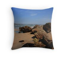 Ards Beach, Donegal Throw Pillow