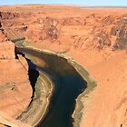 Colorado River at Horseshoe Bend - Arizona by Honor Kyne