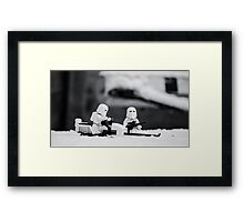 Gaurd Duty Framed Print