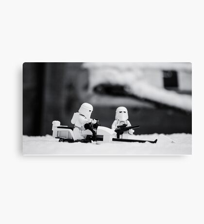 Gaurd Duty Canvas Print