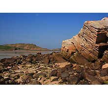 Rocks At Ards Forest Park Beach Photographic Print