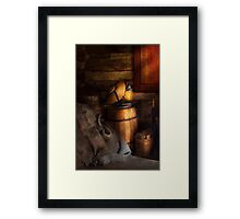 Country - Country elegance Framed Print