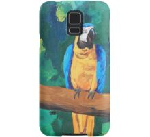 Blue Yellow Macaw Parrot - Samsung Samsung Galaxy Case/Skin