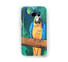 Blue Yellow Macaw Parrot - Samsung Samsung Galaxy Case/Skin