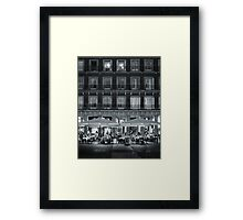 Madrid Life Framed Print