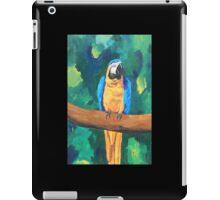 Blue Yellow Macaw Parrot - iPhone iPod iPad iPad Case/Skin