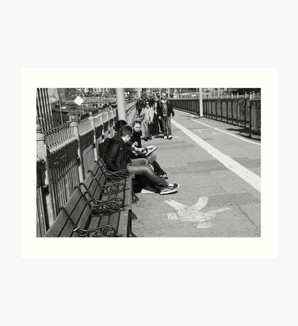 New York Street Photography 15 Art Print