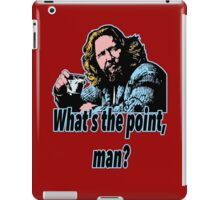 Big Lebowski Philosophy 19 iPad Case/Skin
