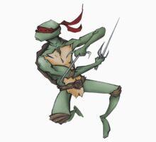 TMNT Raphael by JoeWood
