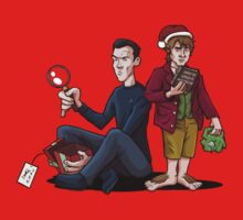 A Very Sherlockian Christmas Baby Tee