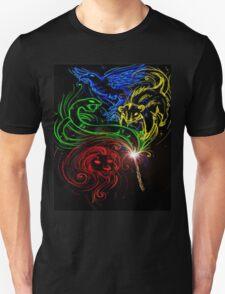 Harry Potter Hogwarts Houses Unisex T-Shirt