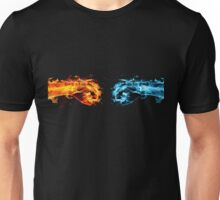 Fire and ice - Fist bump Unisex T-Shirt