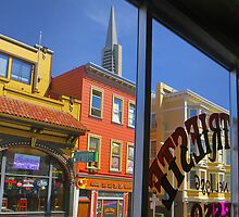 View From Caffe Trieste by David Denny