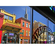 View From Caffe Trieste Photographic Print