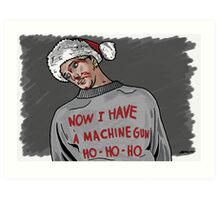 Tony (The Dead Guy In The Elevator In Die Hard) Art Print