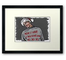Tony (The Dead Guy In The Elevator In Die Hard) Framed Print