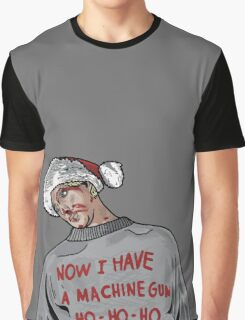 Tony (The Dead Guy In The Elevator In Die Hard) Graphic T-Shirt