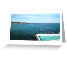 Bondi Icebergs Greeting Card