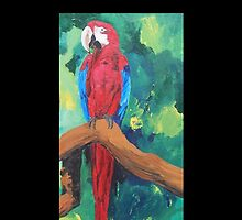 Parrot Full Length Image - Samsung by PhoneCase