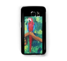 Parrot Full Length Image - Samsung Samsung Galaxy Case/Skin
