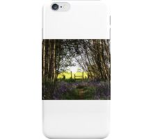 Bluebells and stile iPhone Case/Skin