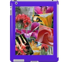 A Gorgeous Floral Collage for Your Ipad! iPad Case/Skin