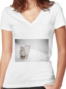 No Hope Women's Fitted V-Neck T-Shirt