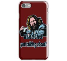 Big Lebowski Philosophy 21 iPhone Case/Skin