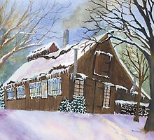 Great Hills Maple Sugar House by Roseann Meserve