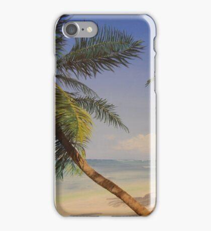 Palm Tree Ocean Tropical Beach Island - iPhone iPod iPad iPhone Case/Skin