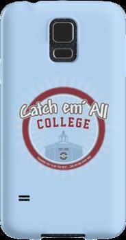 Catch 'em All College by thehookshot