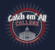 Catch 'em All College Kids Clothes