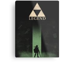 Legend  Metal Print