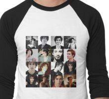 Robert Sheehan Men's Baseball ¾ T-Shirt