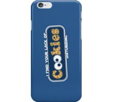 Lack of Cookies iPhone Case/Skin