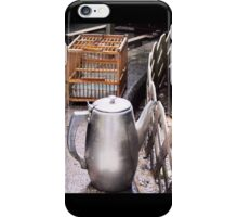 Teapot and Birdcage  iPhone Case/Skin