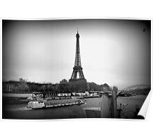 Paris Scene Poster