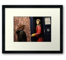 """Who the Hell are you Clownboy?!"" Framed Print"
