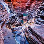 Infinite - Karijini National Park, Western Australia. by Sean Farrow