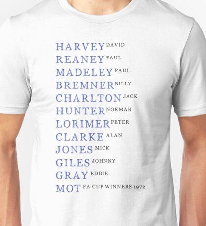 Glory Days - Leeds United 1972 Unisex T-Shirt