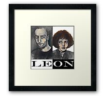 Léon: The Professional Framed Print