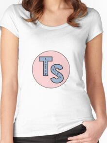 TAYLOR SWIFT LOGO Women's Fitted Scoop T-Shirt