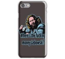 Big Lebowski Philosophy 27 iPhone Case/Skin