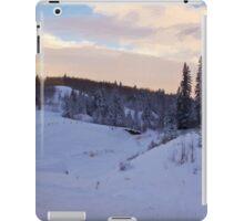 Winter Scene By The Creek - Digital Oil iPad Case/Skin