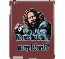 Big Lebowski Philosophy 27 iPad Case/Skin