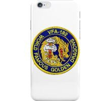 Politically Incorrect VFA-192 Golden Dragons iPhone Case/Skin