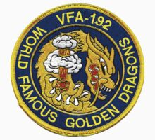 Politically Incorrect VFA-192 Golden Dragons One Piece - Short Sleeve