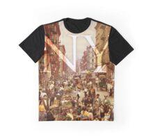 Old School New York Fashion Graphic T-Shirt