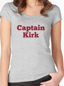 Captain Kirk Women's Fitted Scoop T-Shirt