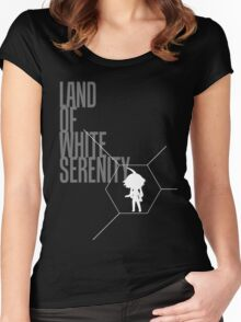 4 Lands - White Women's Fitted Scoop T-Shirt